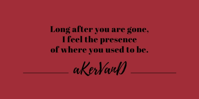 long after you are gone